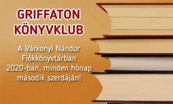 Griffaton Könyvklub a Várkonyi Nándor Fiókkönyvtárban