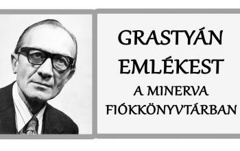 Grastyán emlékest a Minerva Fiókkönyvtárban